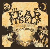 FEAR ITSELF cover art by 5exer