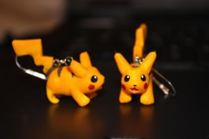 Pikachu Earrings by Melyon