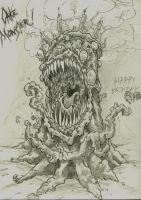 Cake Monster by Mike-Hill