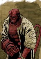 Hellboy by VanHeist