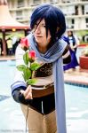 Synchonicity Kaito 1: Rose for you by panngeliciouscosplay