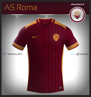 AS Roma Home by ToonsCio