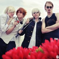 P4: Boys Over Flowers by cafe-lalonde
