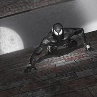 Symbiote Spiderman by kenneyken