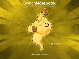 SKNB Desktop Djinn by WarBrown