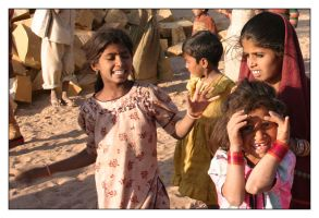 Childrens from India - 1 by pixit