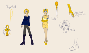 Ref Sheet--Isako/Sailor Hatshepsut by Lady-Moth