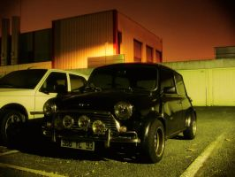 Mini in the night by Guile93