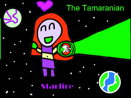 The Tamaranian Starfire by COCOAJB