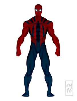 Spider-Man Redesign--20160721 by UdontKnowMe1107