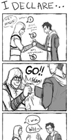 AC: I Declare A Thumb War by MrGrayLetters