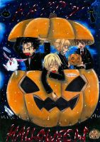 Happy Halloween with my cuties by Xx-Syaoran-kun-xX