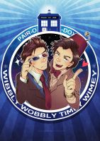 Doctor Who: Pair-O-Docs by nururuateka