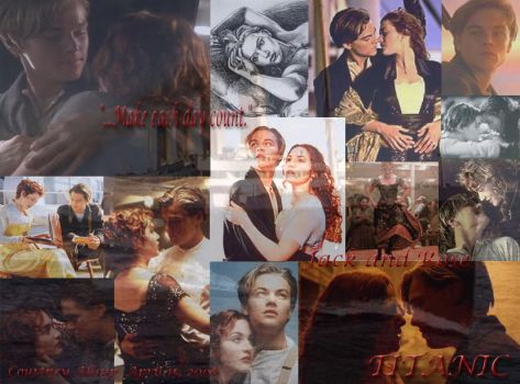 Jack and Rose TITANIC by courtster87