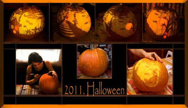 Jack-o'-lantern this year by Dralea