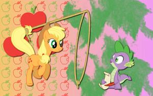 Apple Spike WP by AliceHumanSacrifice0