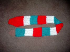 Rocket popsicle scarf by Nanettew9
