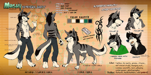 Mushy Reference Sheet (2011) by SilverDeni