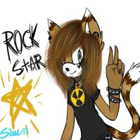 Rock Starrr by SilverGoRawr83