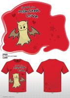 Spread the Monster Love - red version by melon-banzai