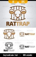 RatTrap - Logo Template by doghead