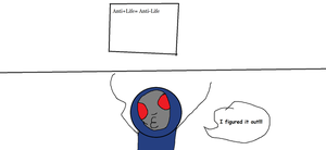 Darkseid figures out the Anti-life equation by TheUltimateSpiderFan