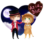 Aziz and Blut~ by Pocchiii