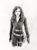 Black Widow by Pencilsketches