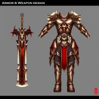 Armor And Weapon Design by WUDUO