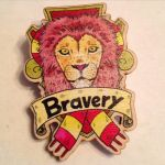 Gryffindor House Crest Brooch by Tom-Draws