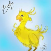 Chocobo loves you by AliceCreative