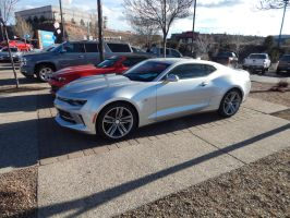 2017 Chevrolet Camaro 1LT Coupe by TheHunteroftheUndead
