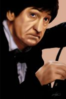 Patrick Troughton by westleyjsmith