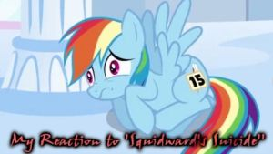 My Reaction to 'Squidward's Suicide' by DrakkenlovesShego12