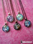 My Little Pony Necklaces by DragonBeak