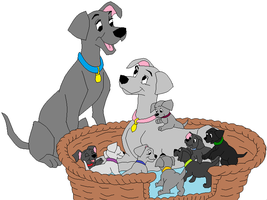 101 Dalmatians base 2 by RaindropLily