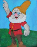 Doc (from Snow White and the seven Dwarfs) by EysteinKN