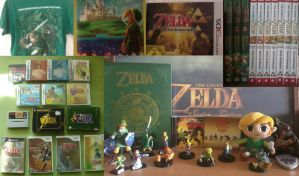My Zelda Collection by EasterEgg23