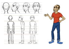 model sheet by nadavnach