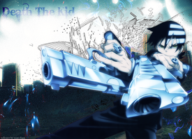 Death the kid wallpaper by xPaw-chanx