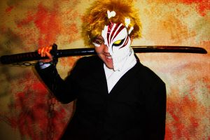 Cosplay: Hollow Ichigo by BlackKrogoth