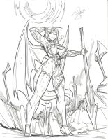 Dragoon Meia by FredGDPerry
