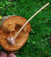 Hobbit Hole Pipe 12 inch Myrtlewood by FloggleWerks