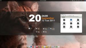 Ubuntu Oneiric with compiz by strycore