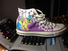 converse zombie by renecordova