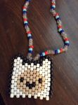 Kandi Fin Necklace from Adventure Time by ForeverResa