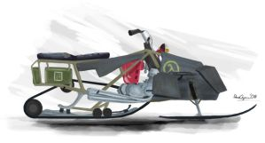 Half-Life 2 Ep3 Snowmobile by Chili-Fan