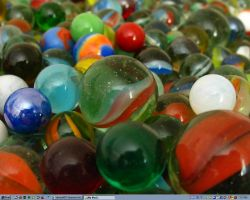 My lost marbles by bluewave-stock
