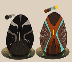 Auction egg batch 1- Open by Agent-Taai