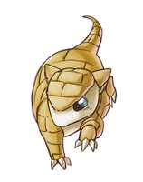 Sandshrew by gracifer